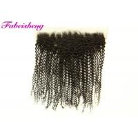 "Buy cheap 13x6 Lace Frontal / 13x4 Transparent Lace Frontal 10-18"" Curly from wholesalers"