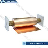Wholesale High Conductivity Surface Degreasing Copper Foil Roll , Tolerances ±0.001 from china suppliers