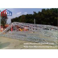 Wholesale 15m Span Aluminium Roof TrussesHand Hoist Strong Loading Capacity For Event from china suppliers