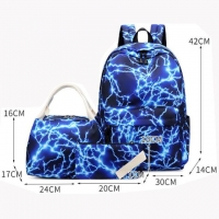 Wholesale 3 Piece Combination Leisure Nylon Student School Bag from china suppliers