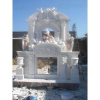 Wholesale Large marble fireplace mantel from china suppliers