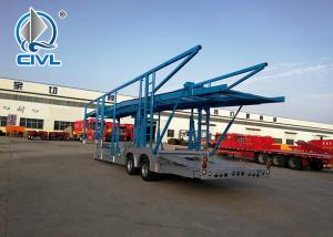 China CIVL 15m Vehicle Transport Semi Trailer Trucks  Car Carrier Truck Trailer With FUWA Axles on sale
