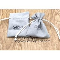Wholesale Handmade Velvet Long Drawstring Jewelry Pouches Bag Gift,Suede Fabric Drawstring Bag Jewelry Bag Gift Bag Small Mini Car from china suppliers