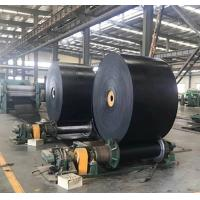 Wholesale Industrial Fire Resistant Conveyor Belt , Black Color Reinforced Rubber Belting from china suppliers