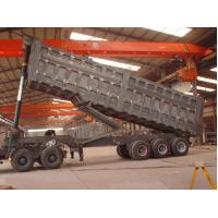 Wholesale Brand new and shock price U shape 50 ton 3 axles rear dump trailer / tipper semi trailer / tipping trailer for truck from china suppliers