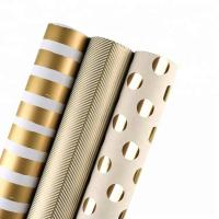 Wholesale Moisture Proof Recyclable Wrapping Paper Smooth Metallic Foil Shine For Clothing / Shoes from china suppliers
