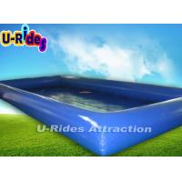 Kids Square Inflatable Swimming Pools Pvc Tarpaulin Ce
