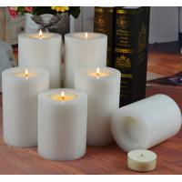 Wholesale Plastic Modern White Artificial Tealight Candle Holder from china suppliers