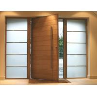 Buy cheap Fix Glass Two Sides Pivot Entrance Door Max Width 1100mm E1 Medium Desity from wholesalers