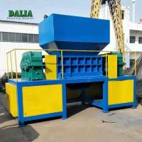 Wholesale Double Shaft Copper Cable Shredder Scrap Metal Crusher 5000kg/H Capacity from china suppliers