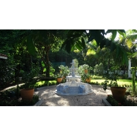 Wholesale Garden stone white fountains,home white marble park stone fountain ,China stone carving Sculpture supplier from china suppliers