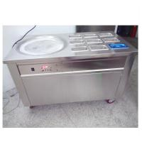 Wholesale Easy Operation Thailand Ice Cream Rolls Machine For Restaurant / Coffee Shop from china suppliers