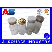 Buy cheap 10ml Amber Miniature Glass Vials Medical Glass Vial And Stoppers from wholesalers