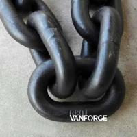Wholesale Durable CM490 CM690 Offshore Mooring Chain High Tensile Strength Hot Dip Galvanized from china suppliers