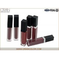 Wholesale Matte Lip Plumping Lip Gloss , Flavored Lip Gloss Makeup Base Function from china suppliers