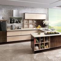 High Density Particle Board Laminate Kitchen Cabinets High ...