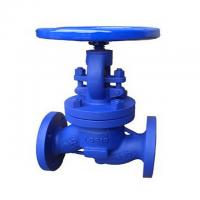 Wholesale EN1092 Bellow Seal Bonnet Globe Valve,1.0619 body,dn50,flanged to pn40,handwheel operated from china suppliers