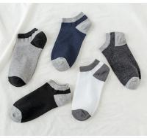 Buy cheap Low Cut Soft Custom Mens Socks , Eco Friendly Casual Mens Designer Socks from wholesalers