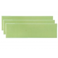 Wholesale Green Plastic Beeswax Foundation Sheet for Beekeepers from china suppliers