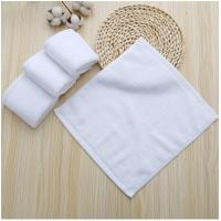 Buy cheap Plain Design Wholesale Luxury 30*30cm Cotton Terry Towels Hotel Hand Towel from wholesalers