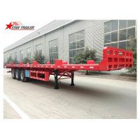 Wholesale Heavy Equipment Transport Drop Deck Semi Trailer Manually Operated Or Hydraulic Type from china suppliers