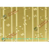 Wholesale Mirror No.8 No.4 Cold Rolled Decorative Stainless Steel Sheet ASTM JIS GB , Gold 1000mm Steel Sheet from china suppliers