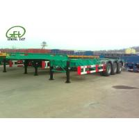 Wholesale 40ft Length Skeleton Semi Trailer HCL / LPG Tanker Container Transporter from china suppliers
