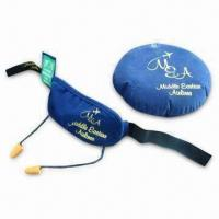 Wholesale Eye Mask and Tags with Ear Plugs, Suitable for Flights, Car and Coach Journeys and Airlines from china suppliers