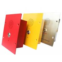 Wholesale Cold Rolled Metal IP65 Weatherproof Emergency Phone Flush Mount Version from china suppliers