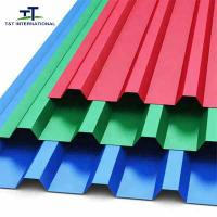Wholesale Popular Color Galvanized Steel Sheet , Corrugated Galvanized Steel Roofing Durable from china suppliers