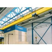 Wholesale Single Girder Travelling Overhead Crane With Monorail Electric Hoist FEM / DIN Standard from china suppliers