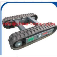 China 3 ton Rubber Track Undercarriage on construction machinery/2016 new hydrualic  crawler undercarriage wholesale