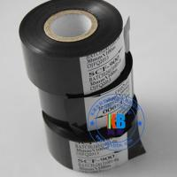 Wholesale batch number printing 25mm*100m black hot stamping foil on food pharmaceutical package usage from china suppliers