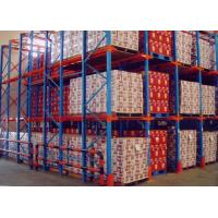 Wholesale Warehouse Selective Drive-In Pallet Racking , Industrial Shelving Racking System from china suppliers