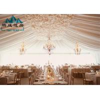 Wholesale Color Printed Commercial Party Tents Flame Retardant For 2000 Guests from china suppliers