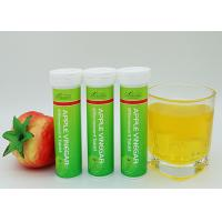 Apple Vinegar Slim Fizz Tablets Customized Formula With Private Label ISO Approved