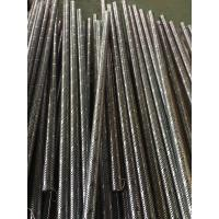 Zhi Yi Da stainless steel 316 spiral welded perforated metal tube oil tube on hot sale