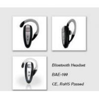 Wholesale Universal Bluetooth Headset, Bluetooth Earpiece for All Bluetooth compatible cell phones from china suppliers