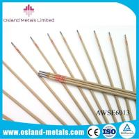 Wholesale Free Sample Low Carbon Steel Branded AWS E6013 J421 Mild Steel Welding Rods from china suppliers