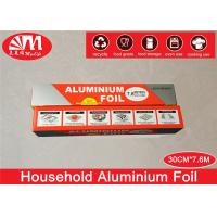 Wholesale Food Wrapping Paper Aluminium Foil Roll , Heavy Duty Foil Paper10 Micron Thickness from china suppliers
