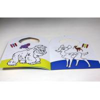 Quality Kids Saddle Stitch Book Binding Perfect Binding / Coloring Book Printing for sale