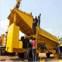 Wholesale River Placer Alluvial Gold Ore Trommel Screen Washing Plant from china suppliers
