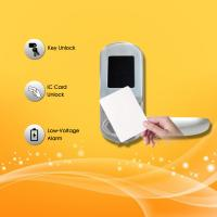 Wholesale Electronic Key Card Door Locks , Hotel Key Card Door Entry Systems Rust Proof from china suppliers