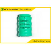 Wholesale 80mah 1.2 V Rechargeable Battery Button Cell NIMH Material Long Service Life from china suppliers