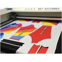 Wholesale Sublimation Sportwear Laser Cloth Cutting Machine Precision Cutting Without Hair Brim from china suppliers