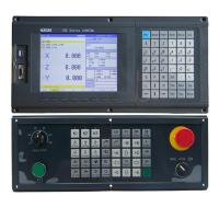 Three Axis Cnc Lathe Machine Controller With PLC Ladder Function , UL ISO Listed