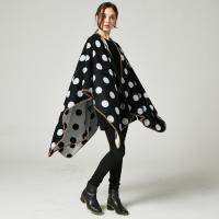 Buy cheap Wholesale 50%polyester and 50% acrylic fashion dot design lady shawl from wholesalers