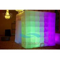 Wholesale Custom LED Inflatable Photo Booth For Birthday Party Entertainment from china suppliers