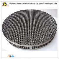 Wholesale Stainless Steel 316 Metal Sheet Perforated Structured Packing 350Y For Distillation Column from china suppliers
