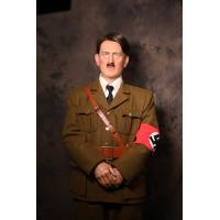 China lifesize high emulation hitler silicone figure for Hitler Historical Museum wholesale